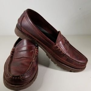 Men's Rockport Brown Penny loafers size 8 M